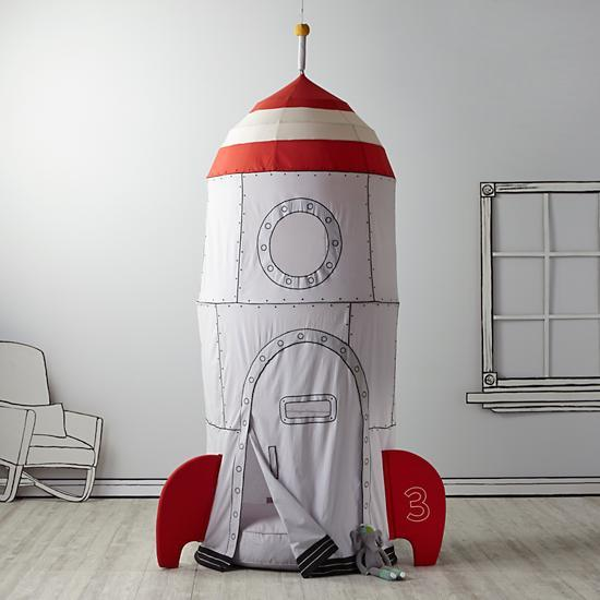 space ship play tent