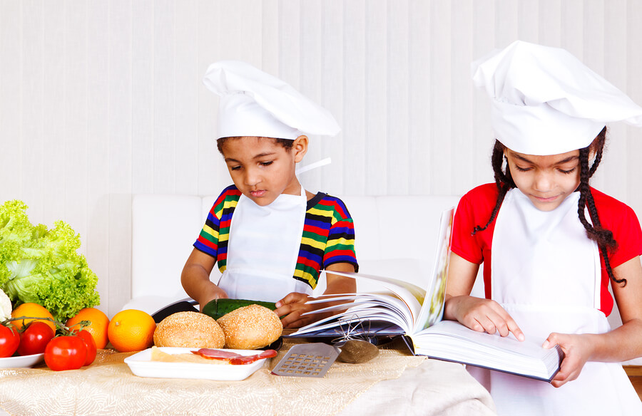 involving kids in cooking